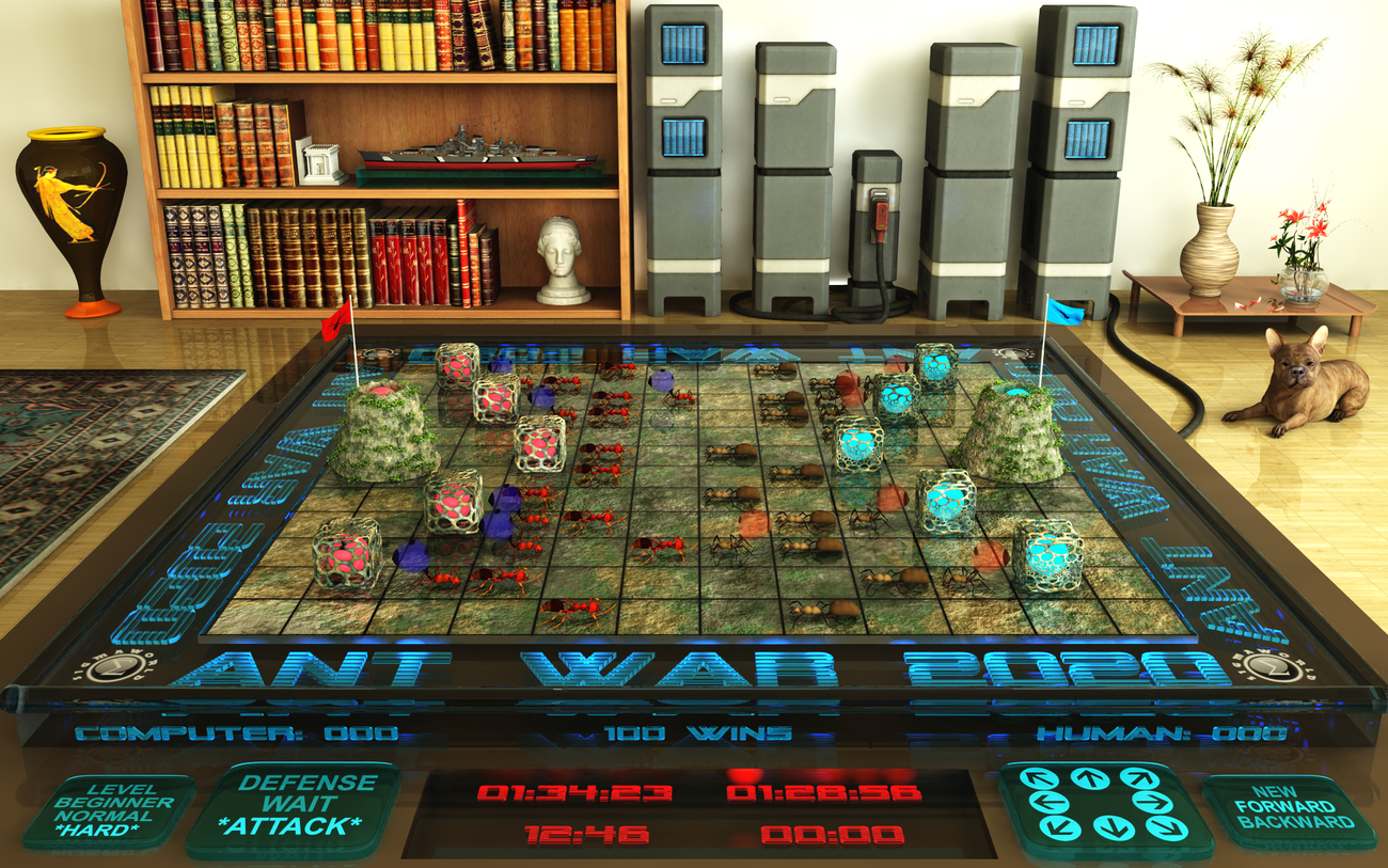 Game-Computer ANT WAR 2020 by SIGMAWORLD