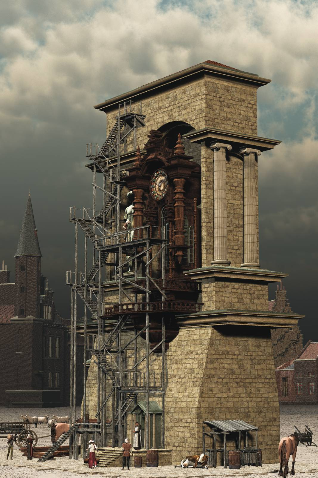 Tower of Time.. a maintenance effort of old.... by London224