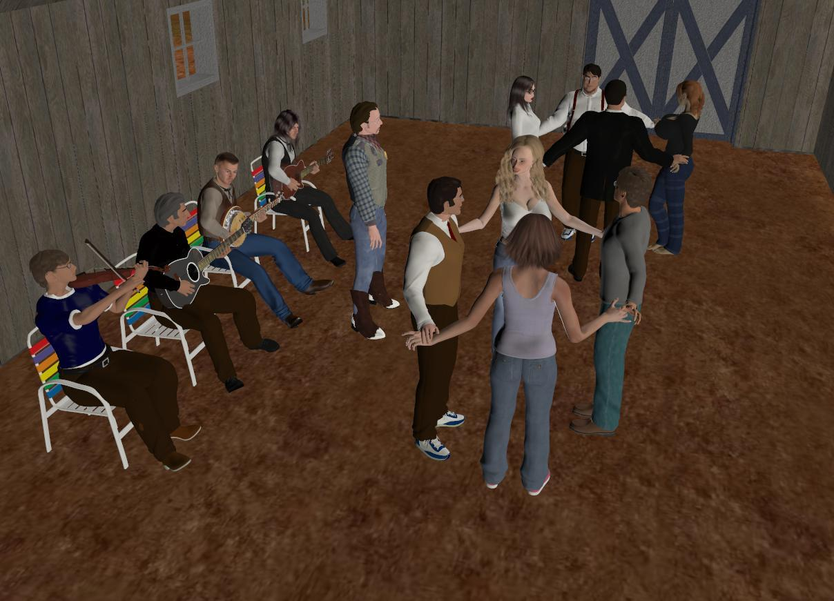 The Square Dance by skip