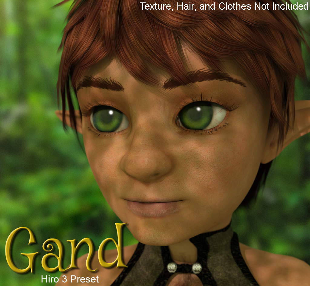 Gand: Character Preset For Hiro 3 by ethin