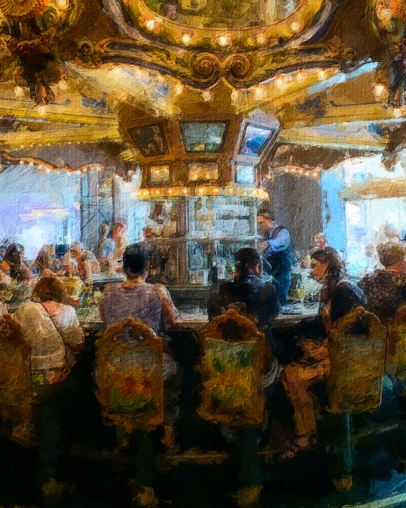 Carousel Bar Paint by torgas