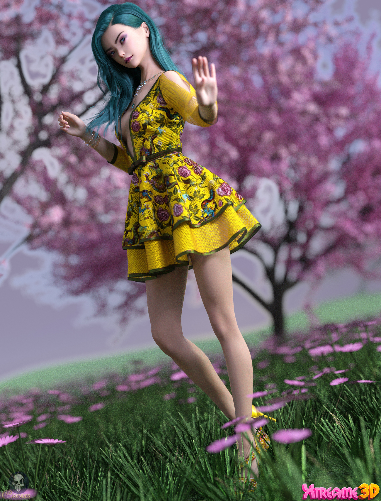 Charm June Holiday Dress and EX by Crender 3 by crender