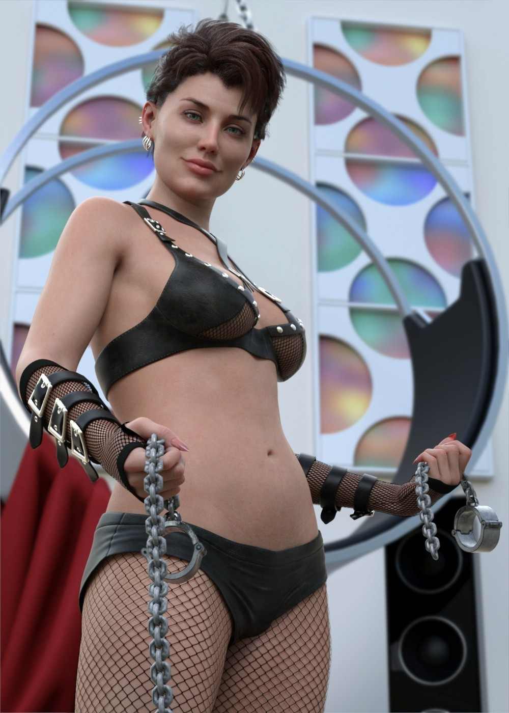 Dangerous Lady WARNING CONTAINS HANDCUFFS by Krid
