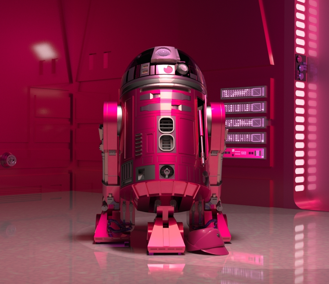 * Droids - Pretty in Pink * by Belit