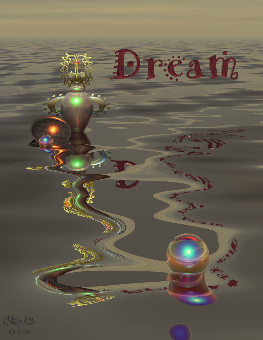 Dream Reflections - 2 by dragongirl