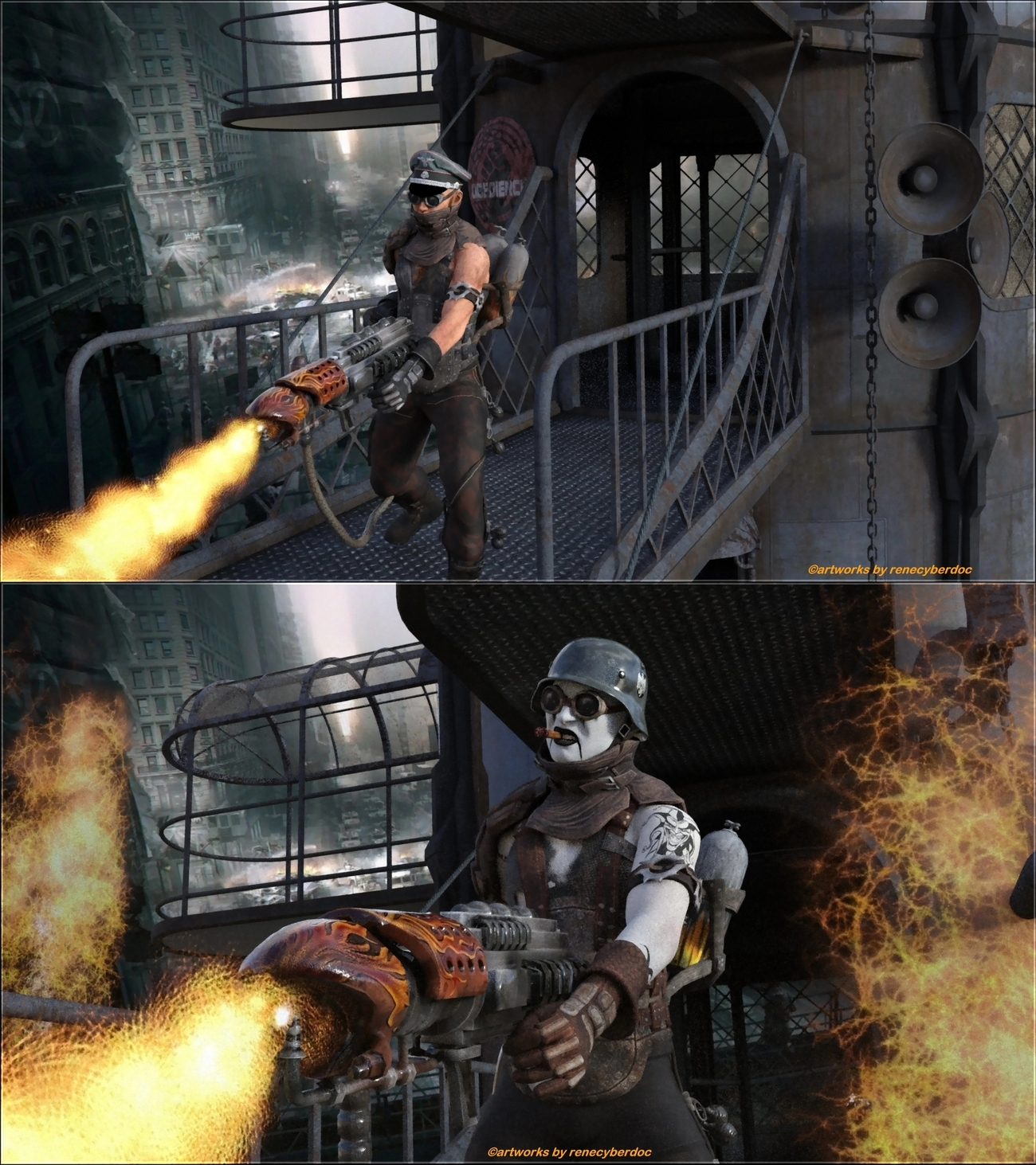 The Division - Fire Cleaners by renecyberdoc