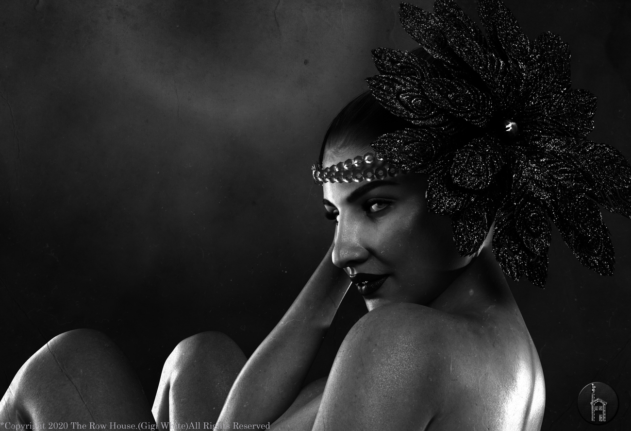 An evening of 1920's Pinup by The_Row_House