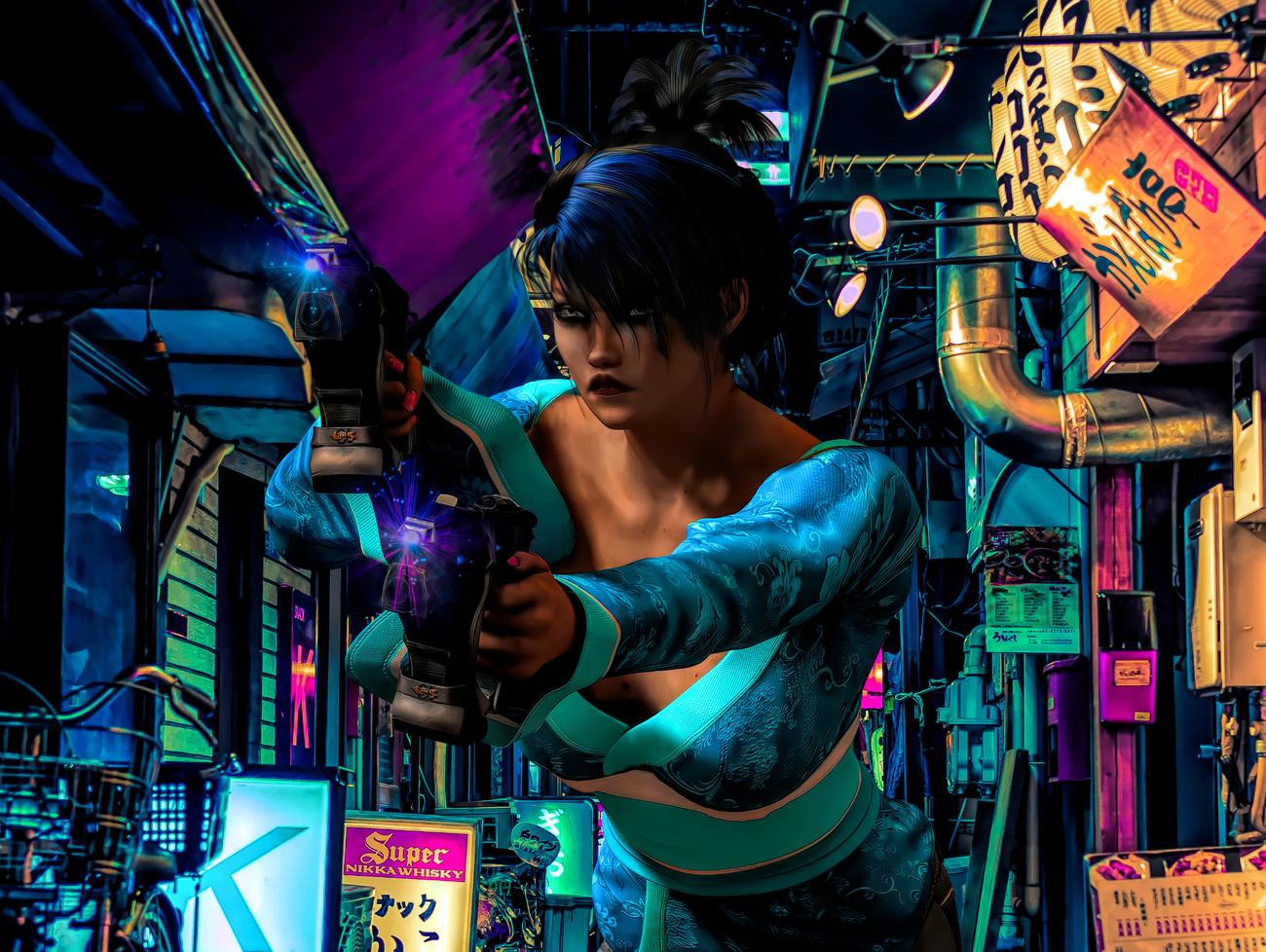 Lethal in Blue by shonsu