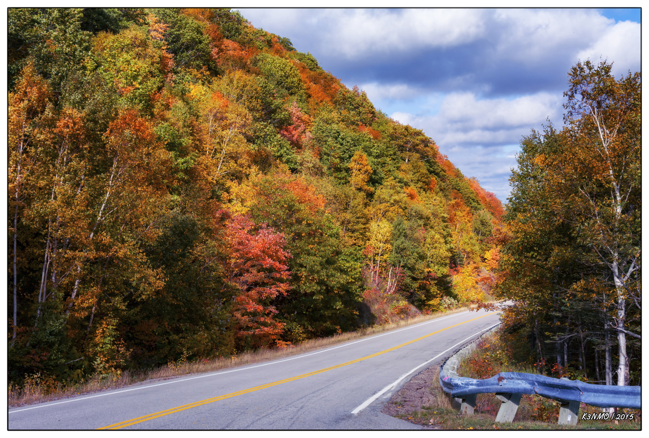 Cabot Trail in Autumn Colors by kenmo