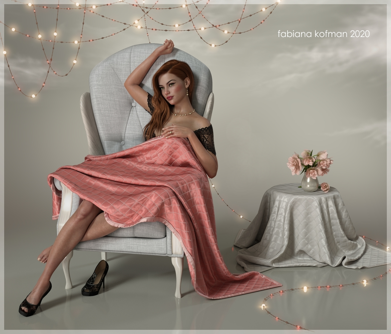 Anne H in pink by fabiana
