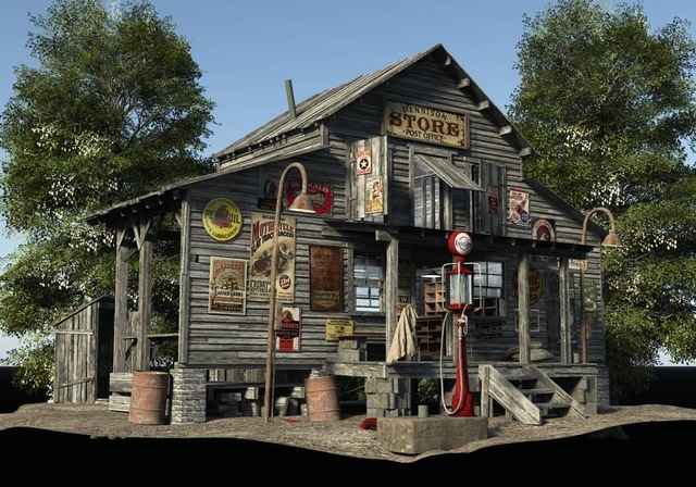 Country Store by London224