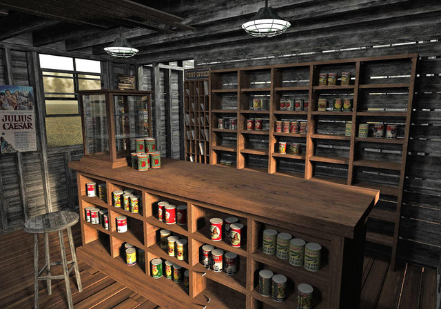 Country Store Interior by London224