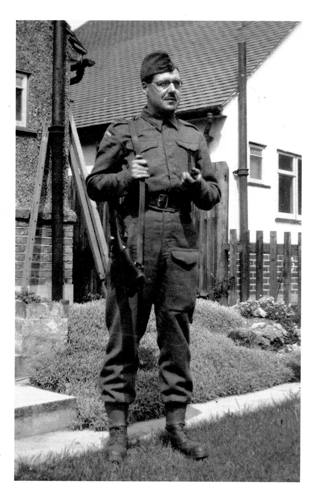 Uncle Donald when in the Home Guard, 1939-45 by A_Sunbeam