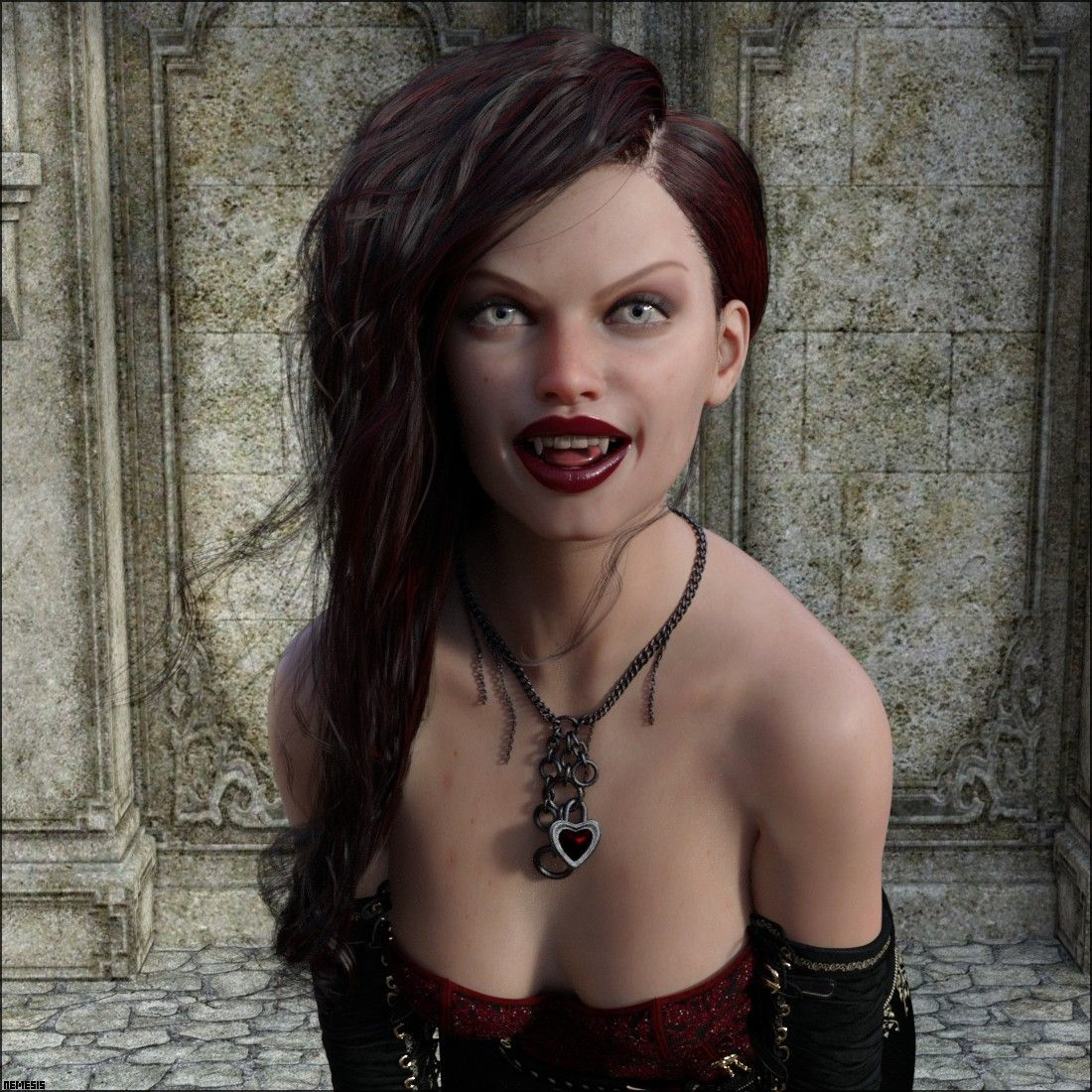 Awesome vampire by nemesis74s