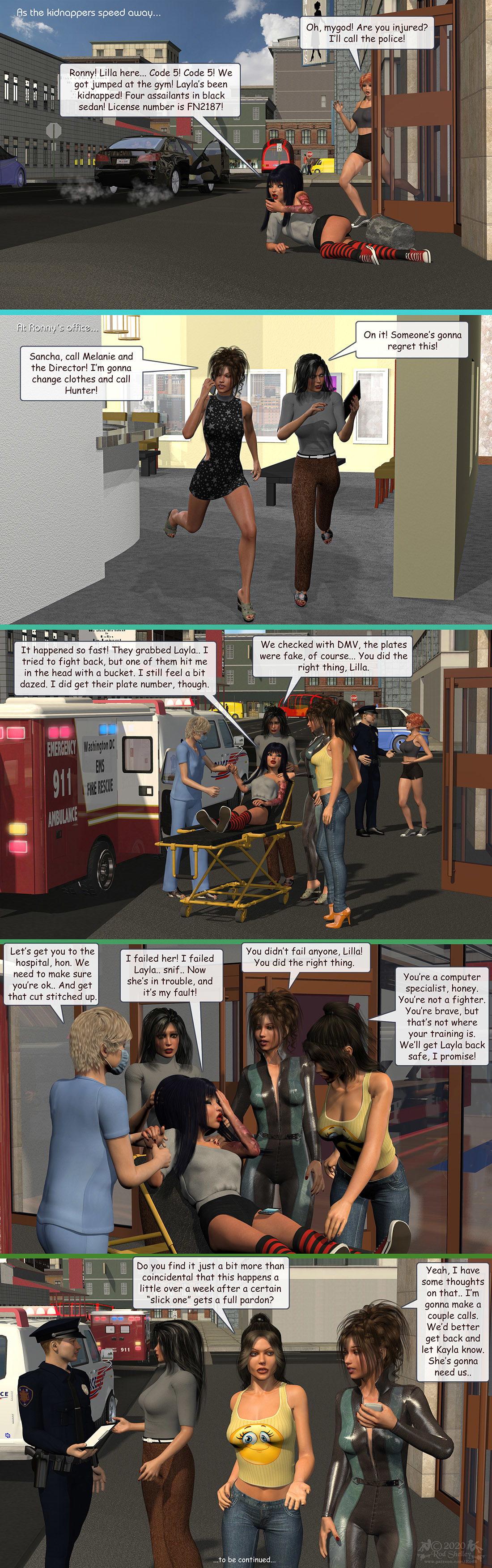 Girls From T.N.A: Breitlenger Jar: Ch 7 Page 05 by RodS