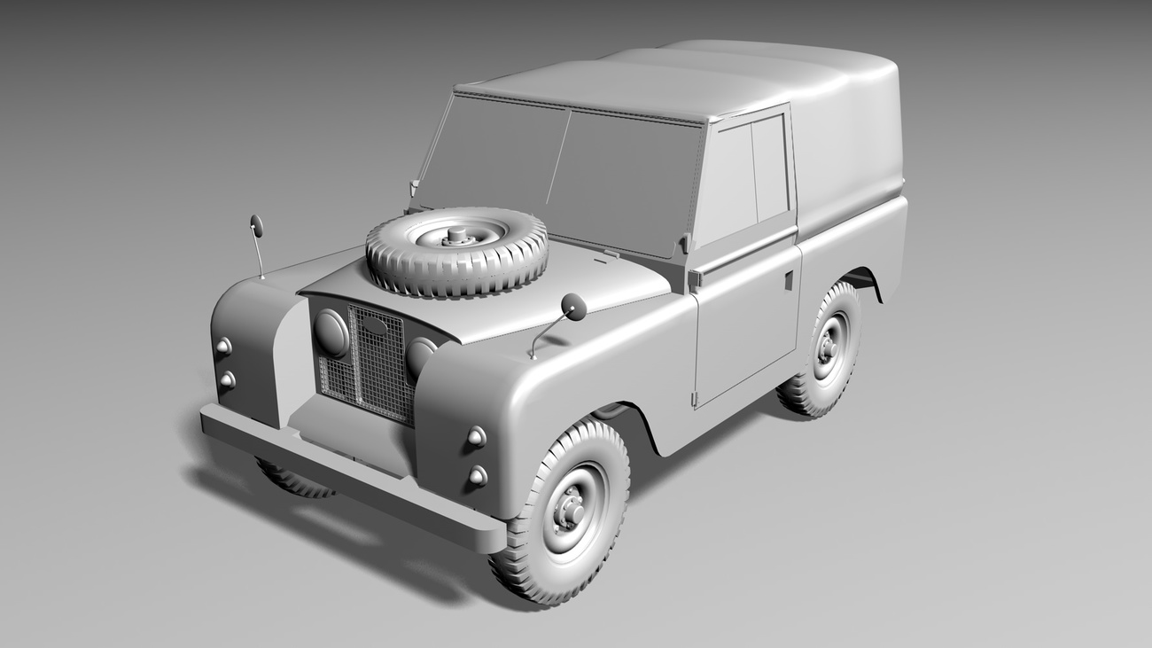 Land Rover Series II by AliceFromLake