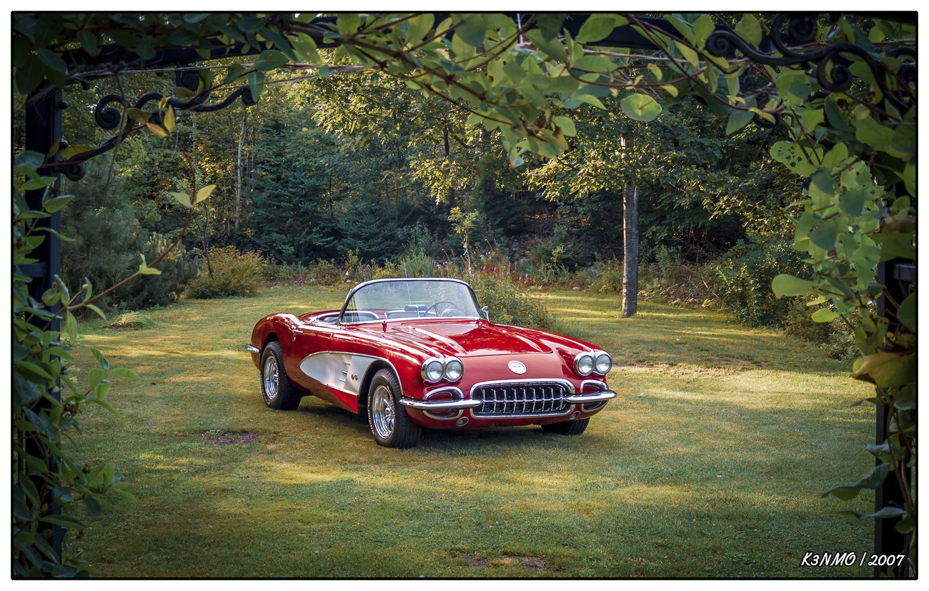 My 1960 Chevrolet Corvette. by kenmo