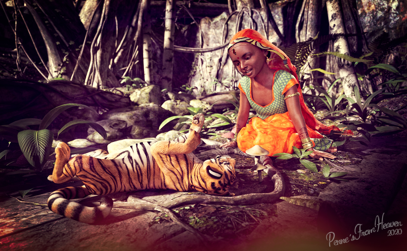 Jungle Young by dollmommy