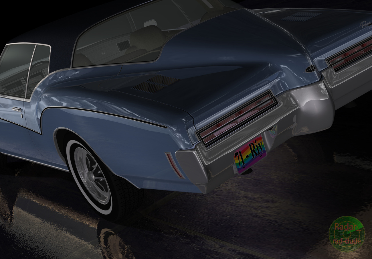 Boat-tail Buick by Radar_rad-dude