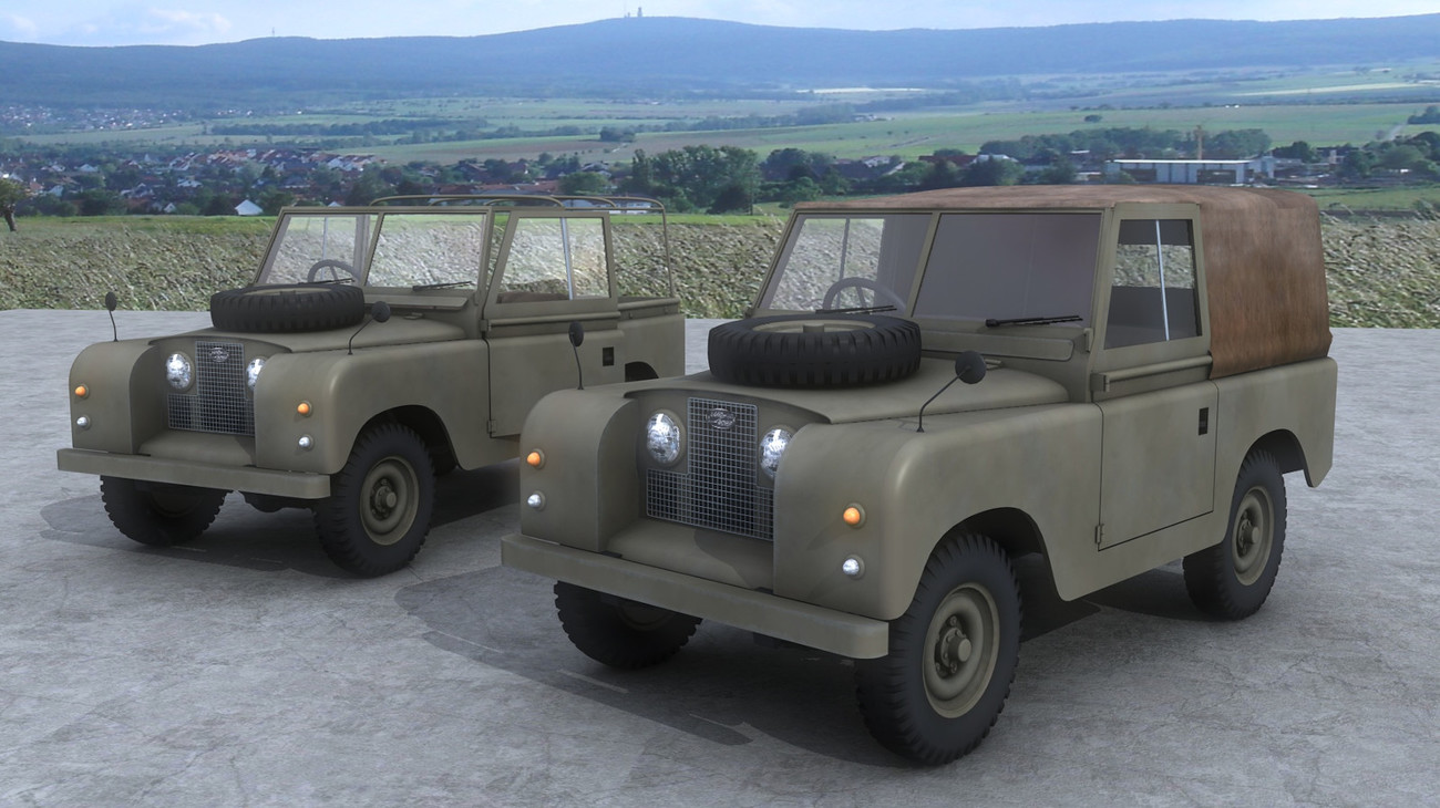 Landrover by AliceFromLake