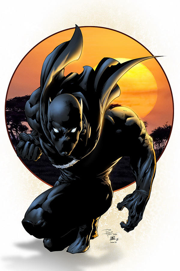 Black Panther by SeanE
