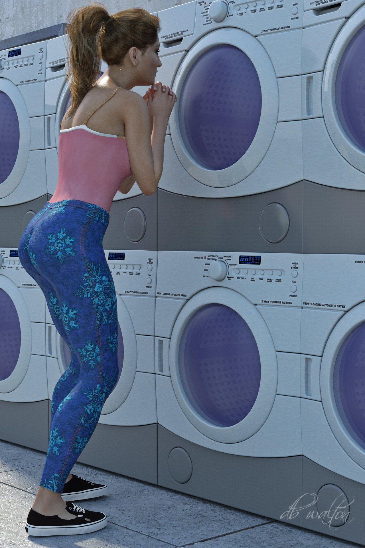 Laundry Day - 2 by dbwalton
