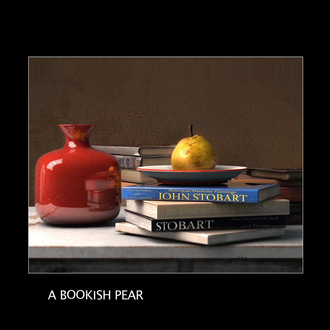 A Bookish Pear