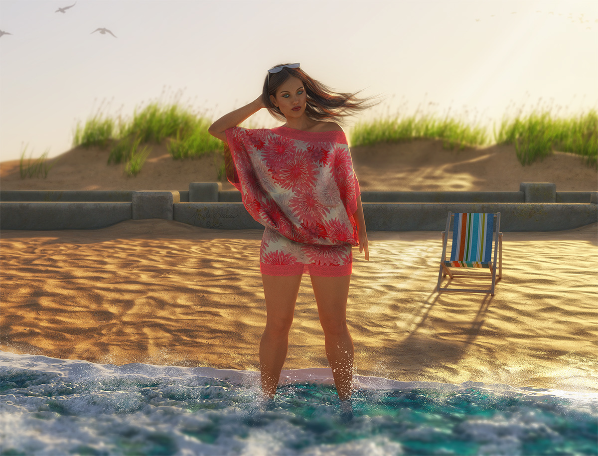 End of Summer by Angela3D