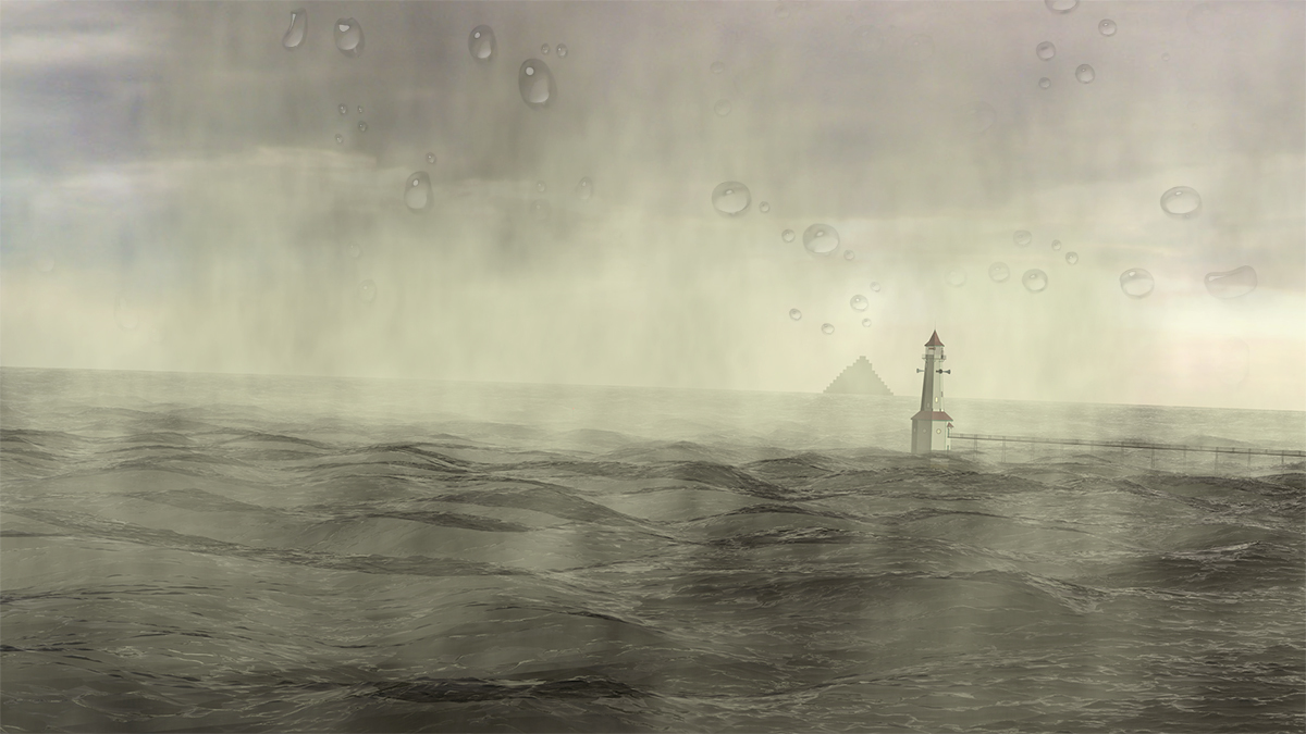 Out On the Water By the Lighthouse by generation2235