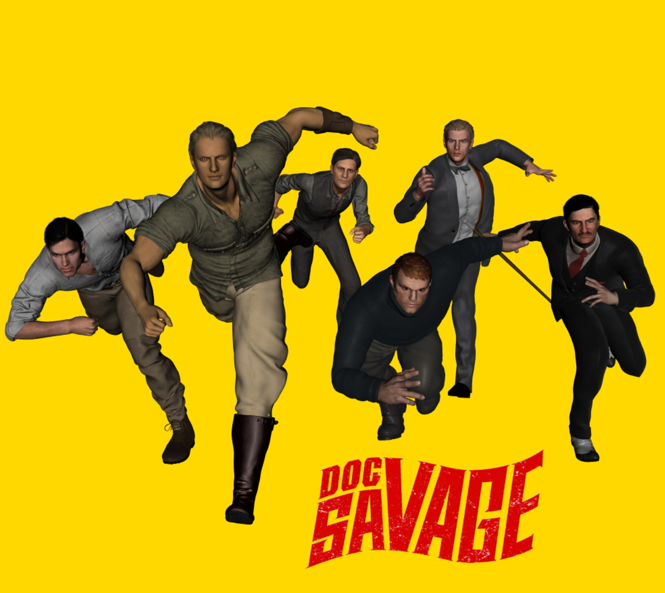 More DOC SAVAGE by praedane