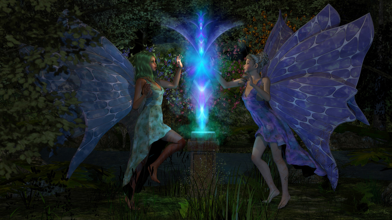 Healing Magick - for Mike (Faemike55) by RodS