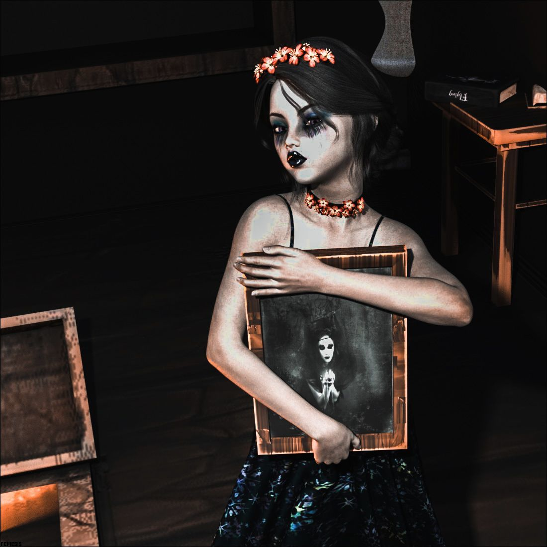 Gothic girl by nemesis74s