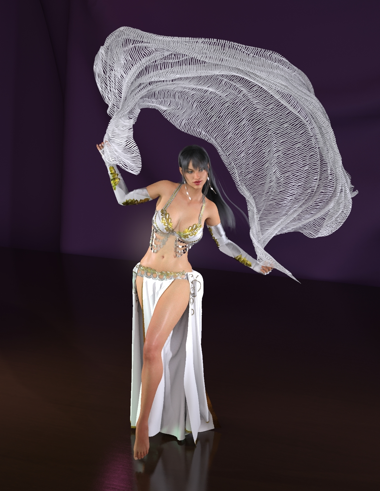 Belly Dance for the October Artists by GrandmaT
