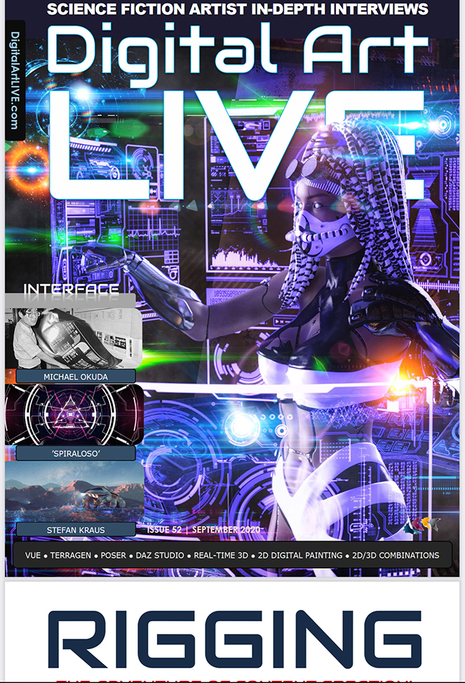 Digital Arts Live Sept 2020 Front Cover!