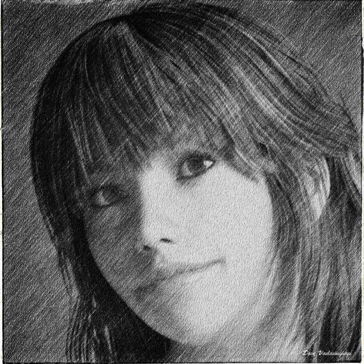 Portrait in pencil by vlgraphics