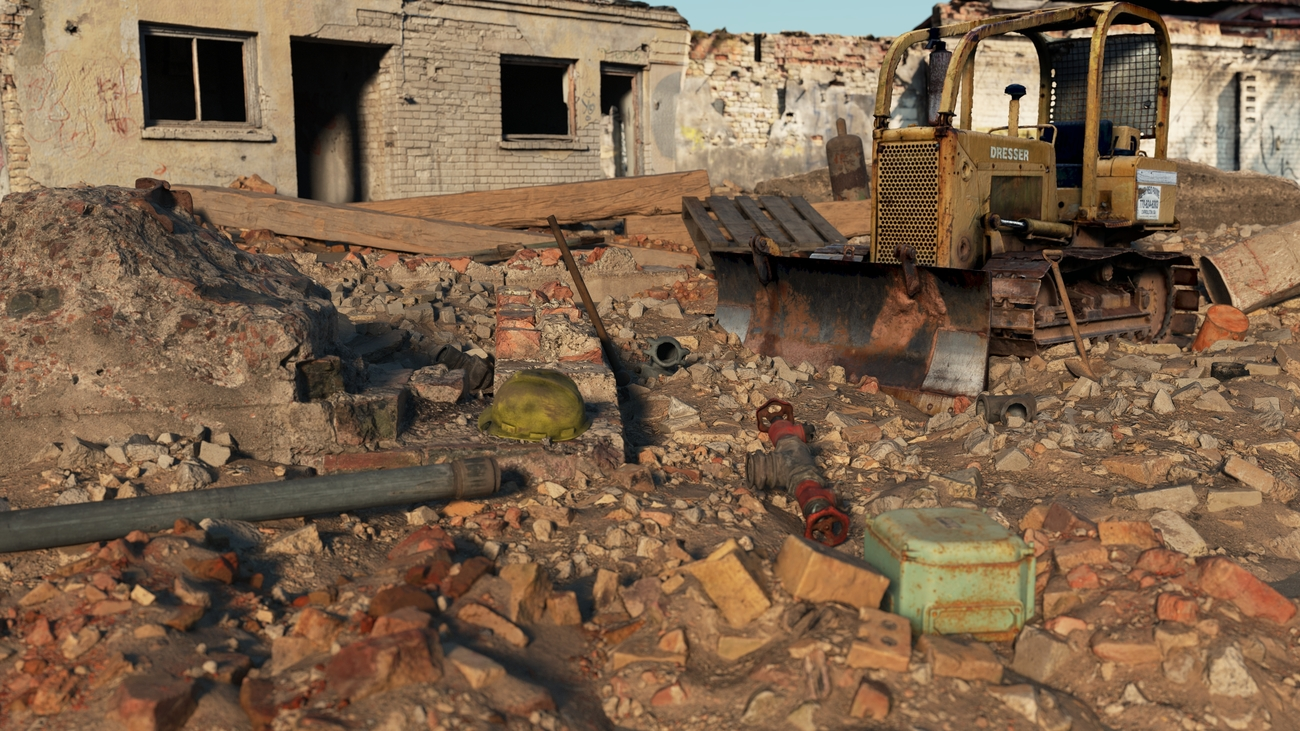 Demolition site by iborg64
