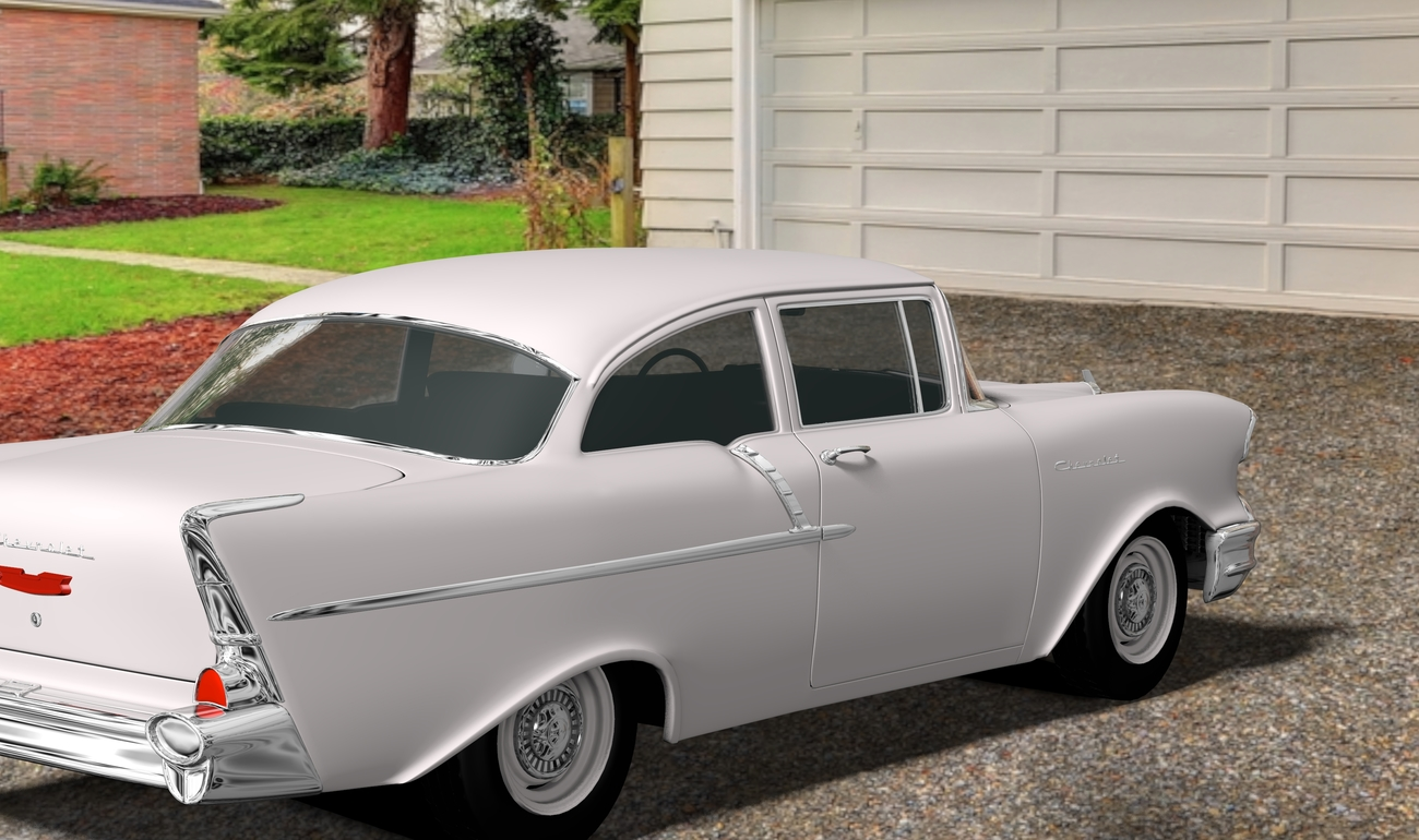 MY OLD 57 CHEVY by BKE