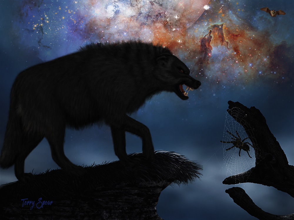 The Wolf and Halloween by terryspear