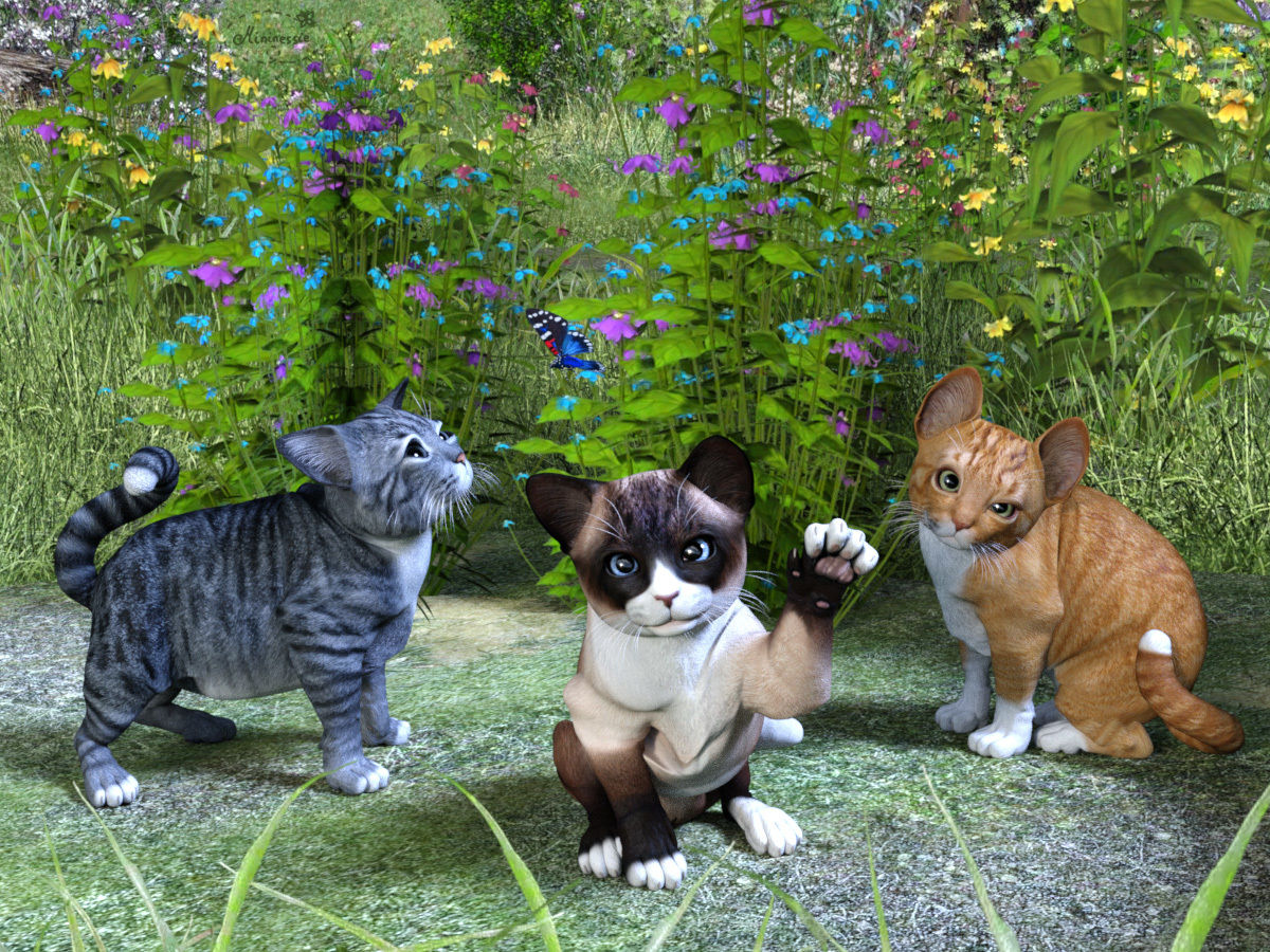MiniCats by mininessie