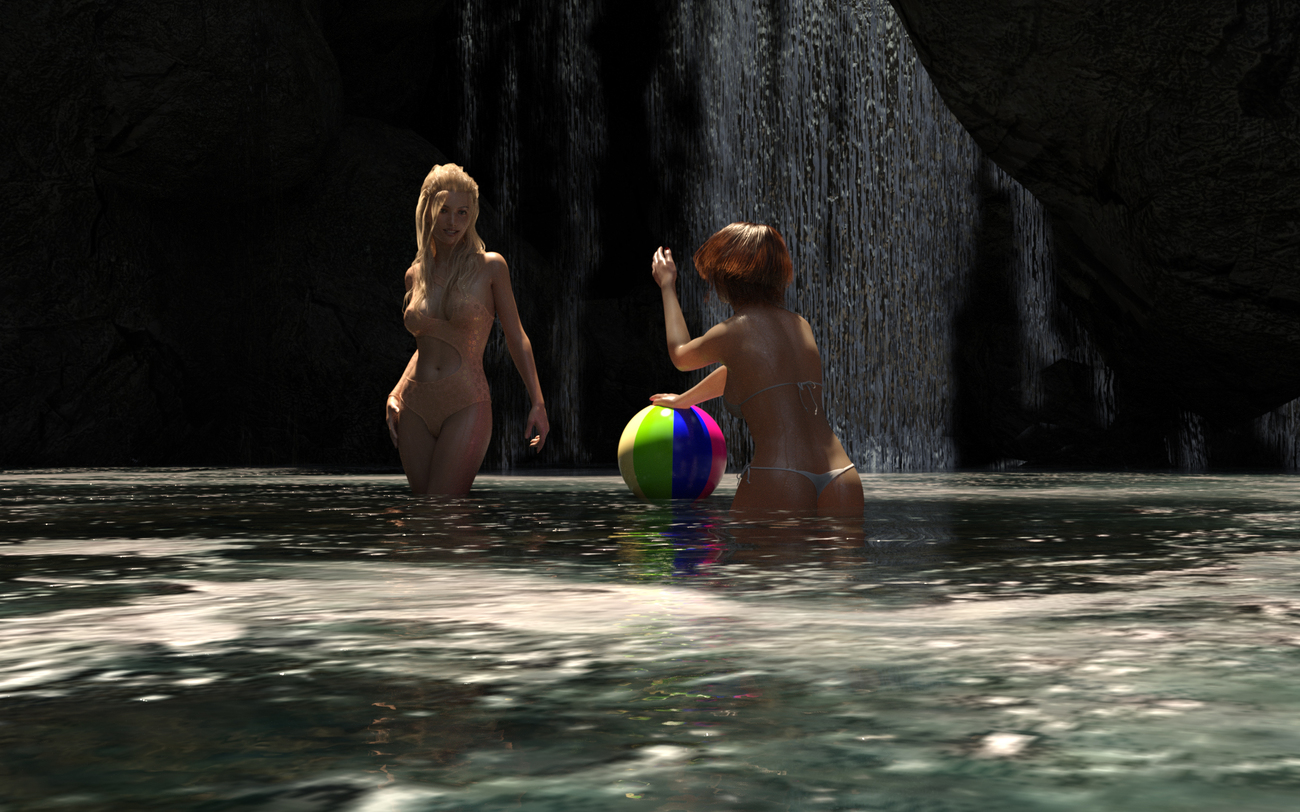 The bathers by Blue_Steel