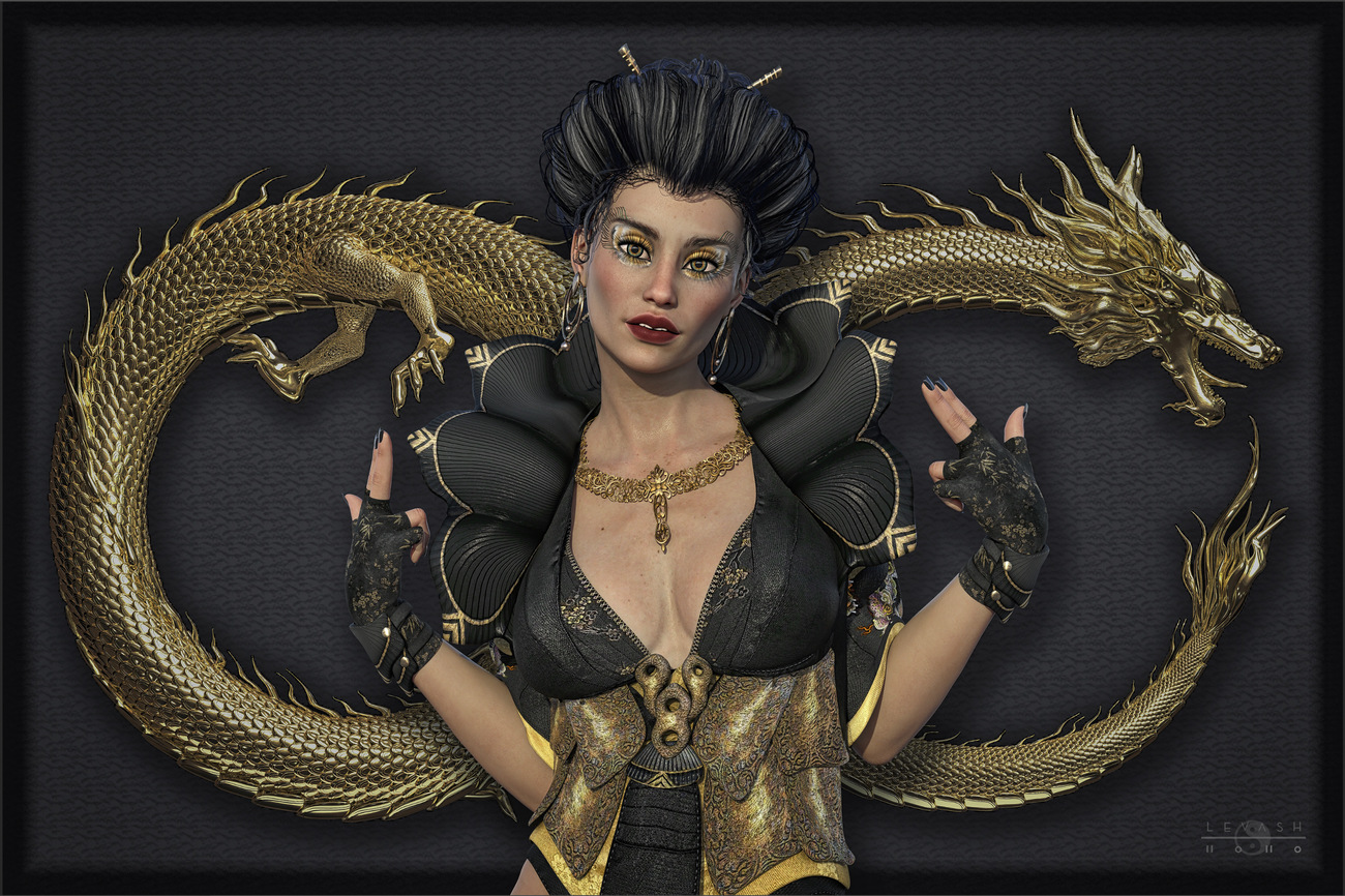 THE DRAGON EMPRESS by ASimple3DGuy
