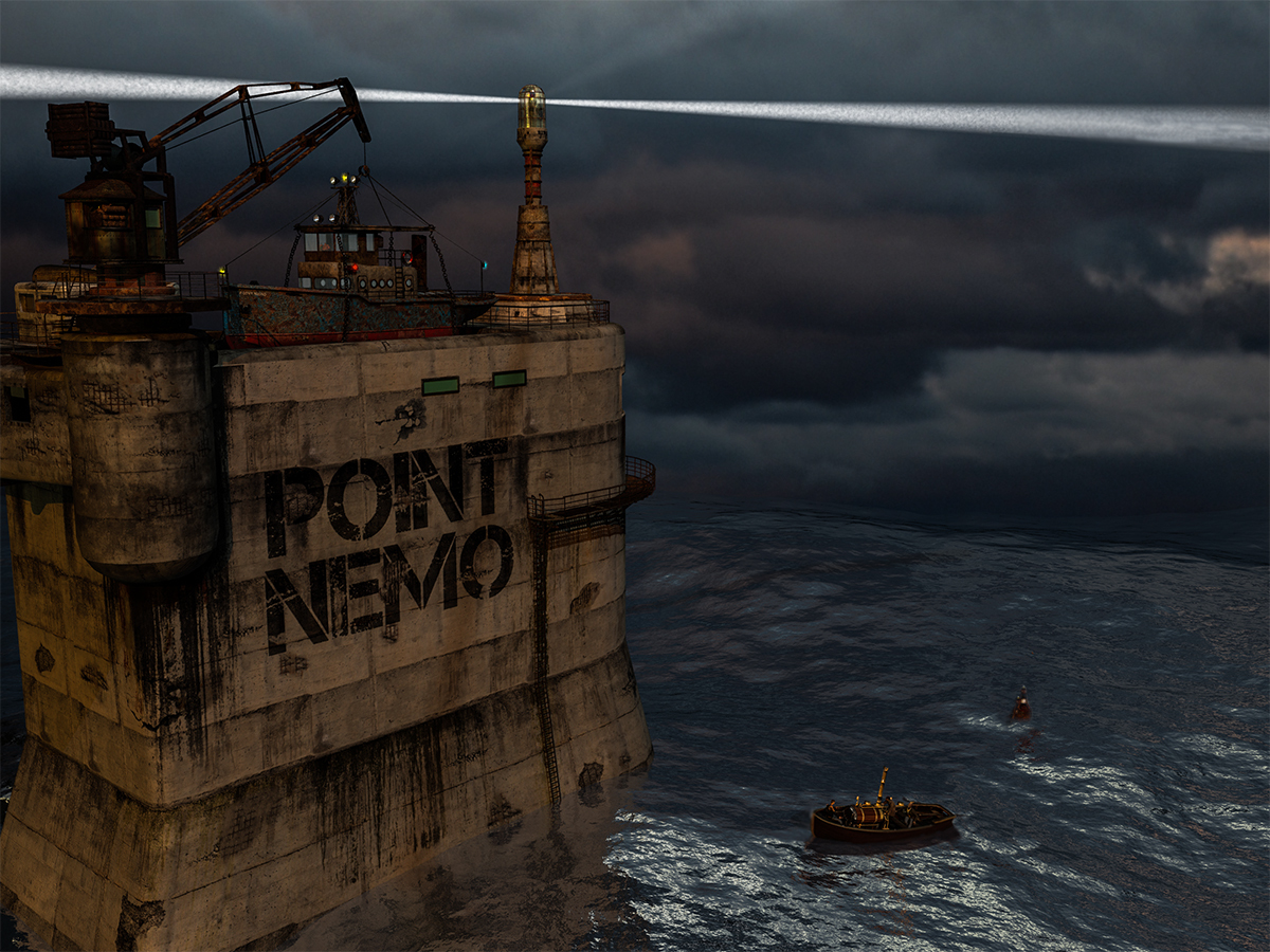Point Nemo by martial