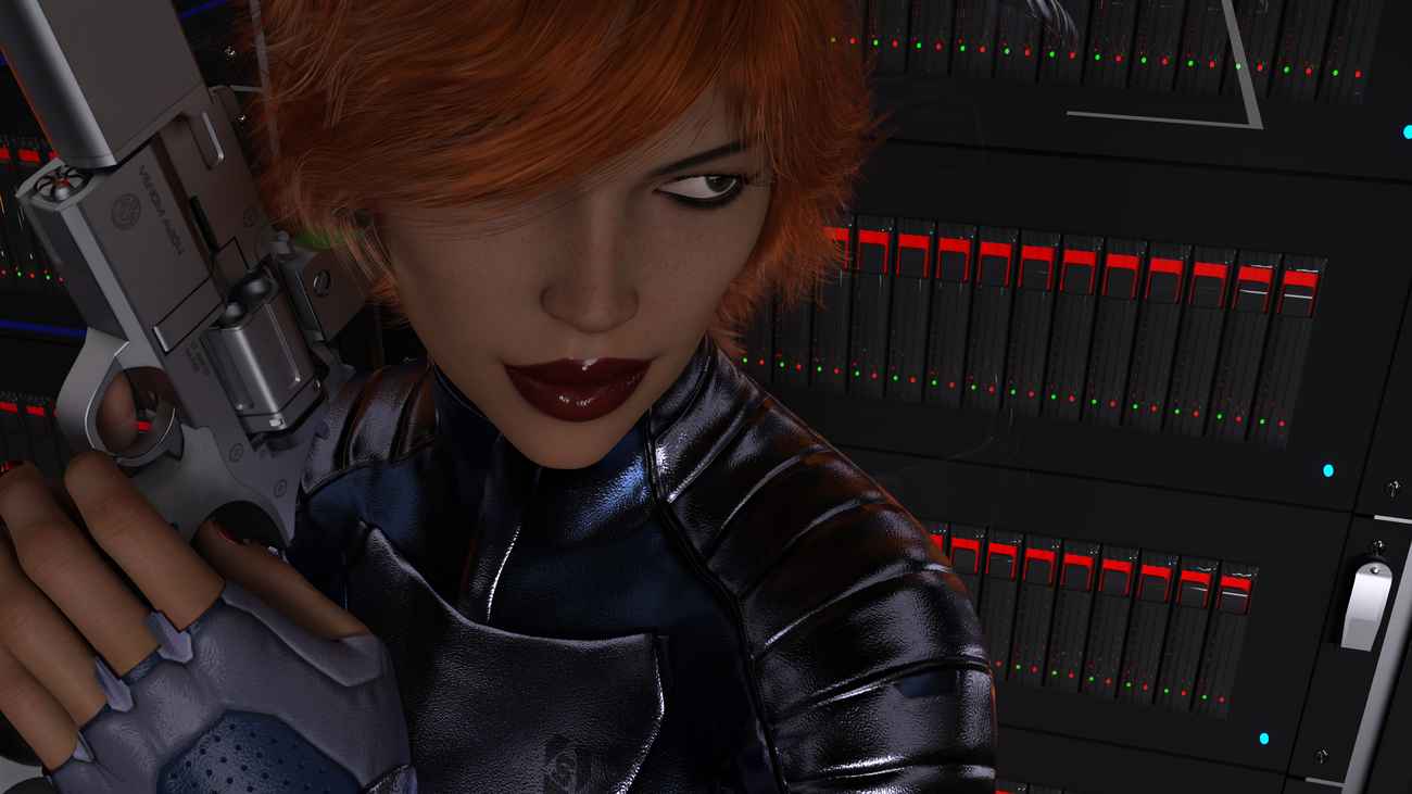 Perfect Dark - Project Sirius (For brain1969) by LyleAryn