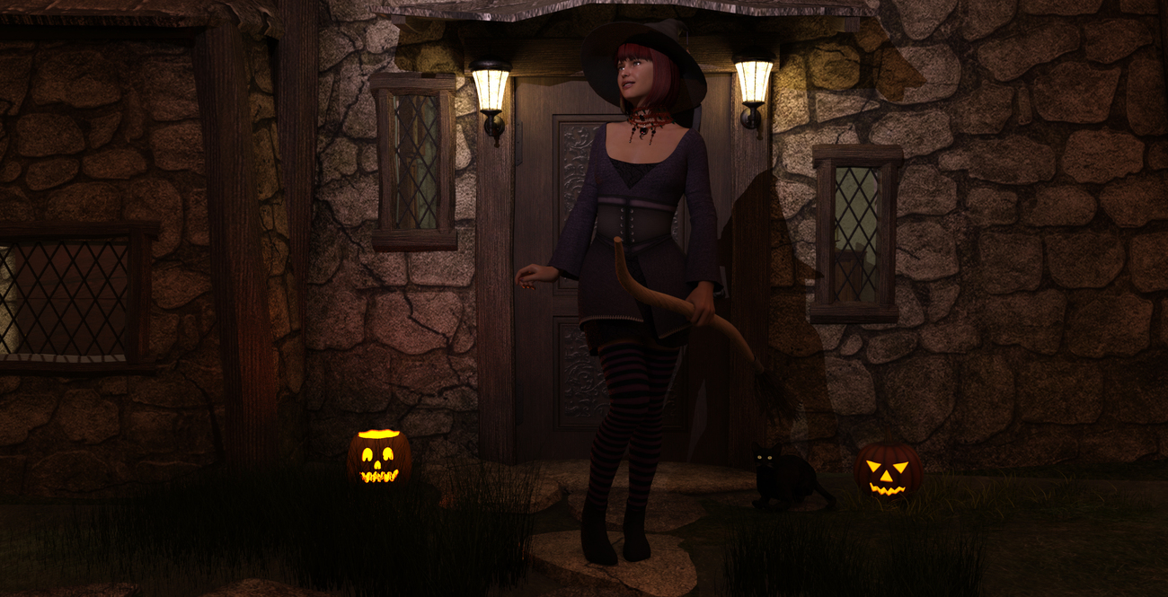 The little witch by Blue_Steel