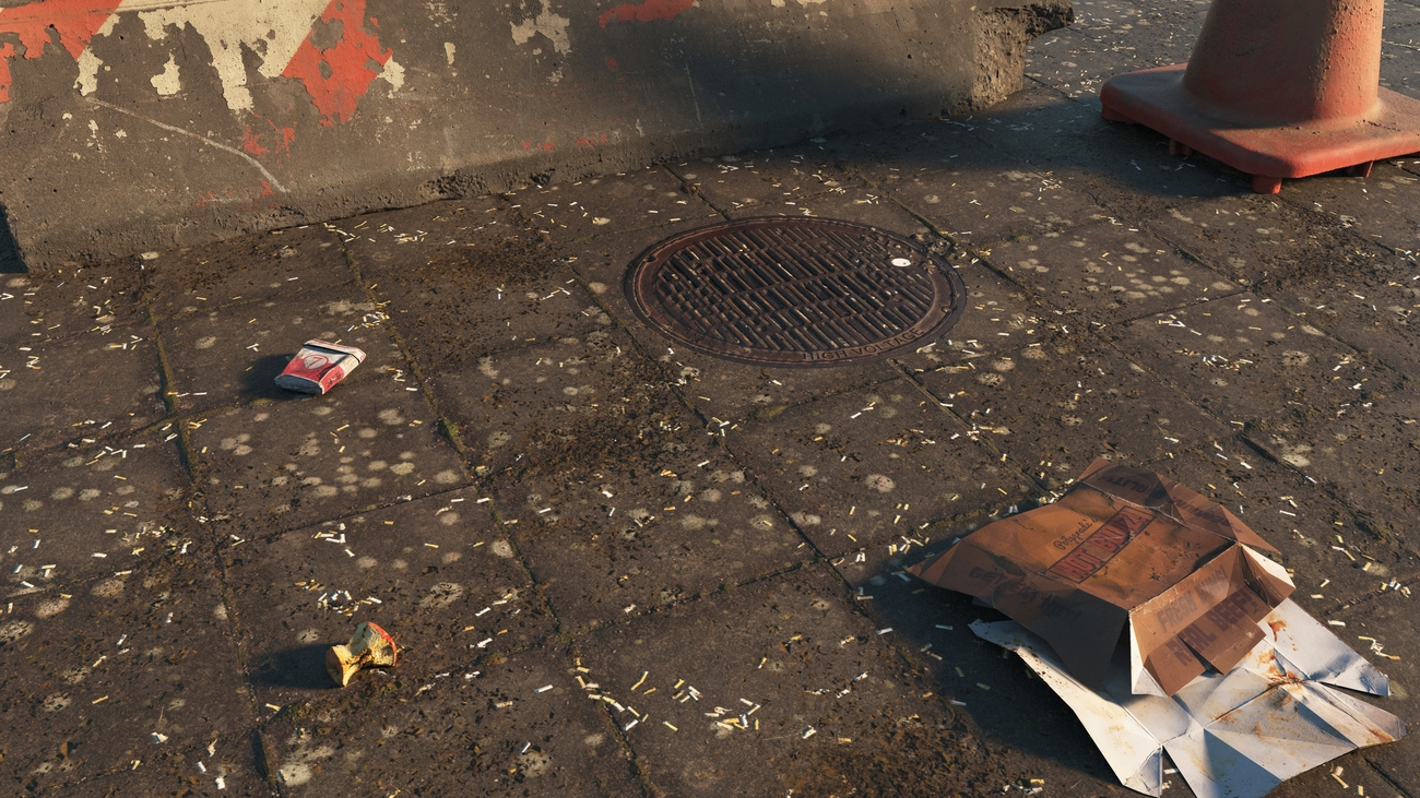 Dirty pavement by iborg64