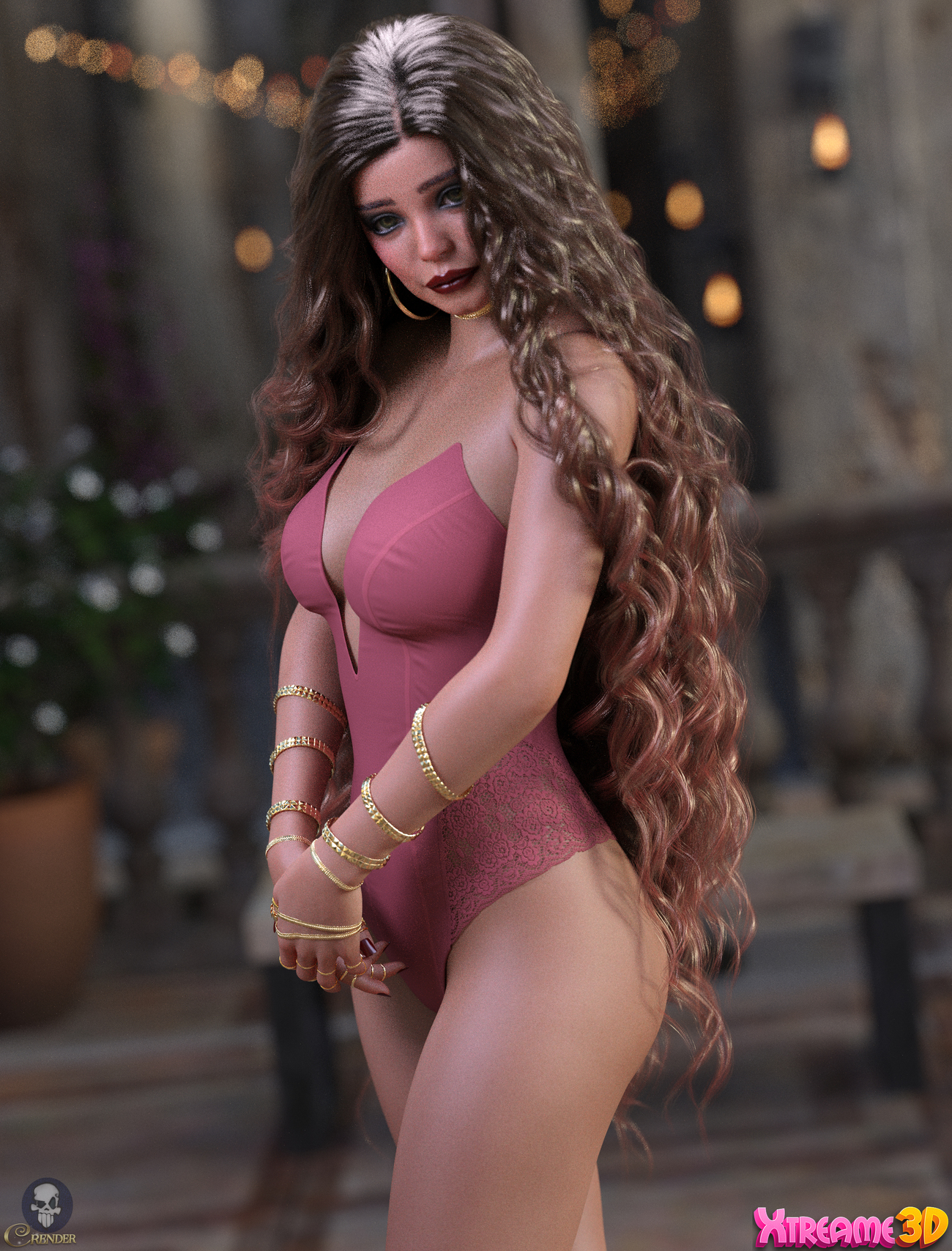 X-Fashion VBodysuit for G8F by Xtrart-3d by crender