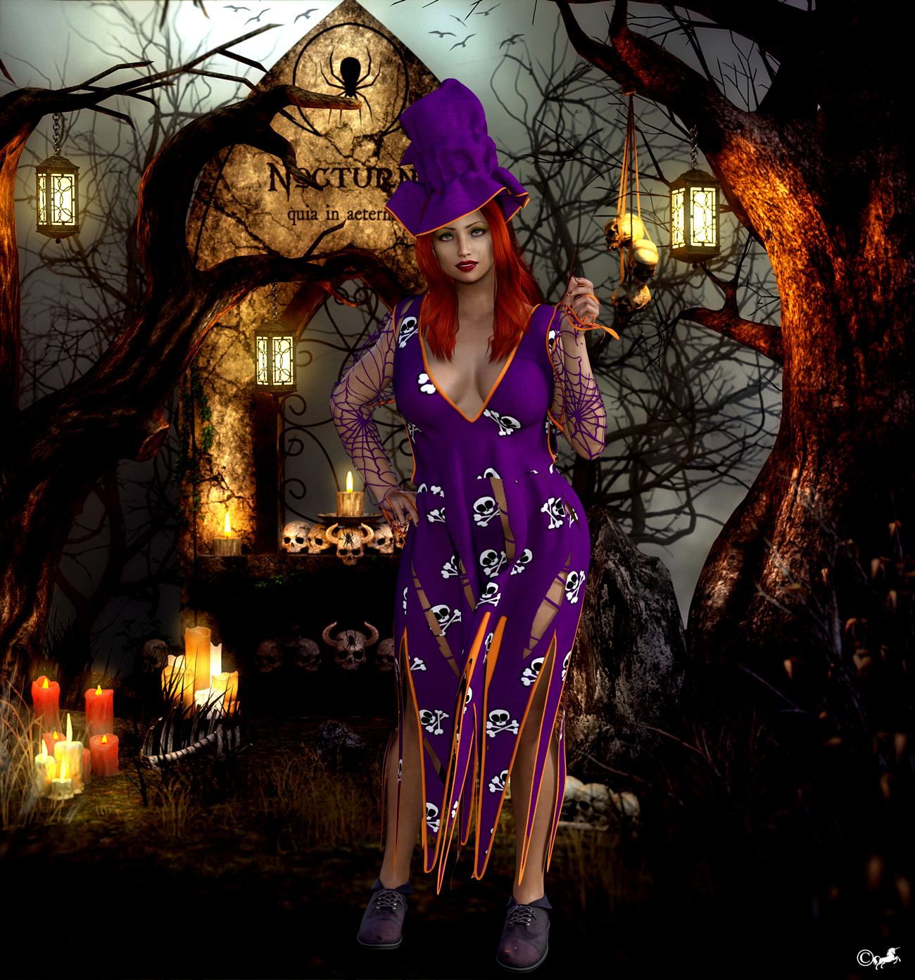 DAZ 881 or only 8 days until Halloween. by miwi