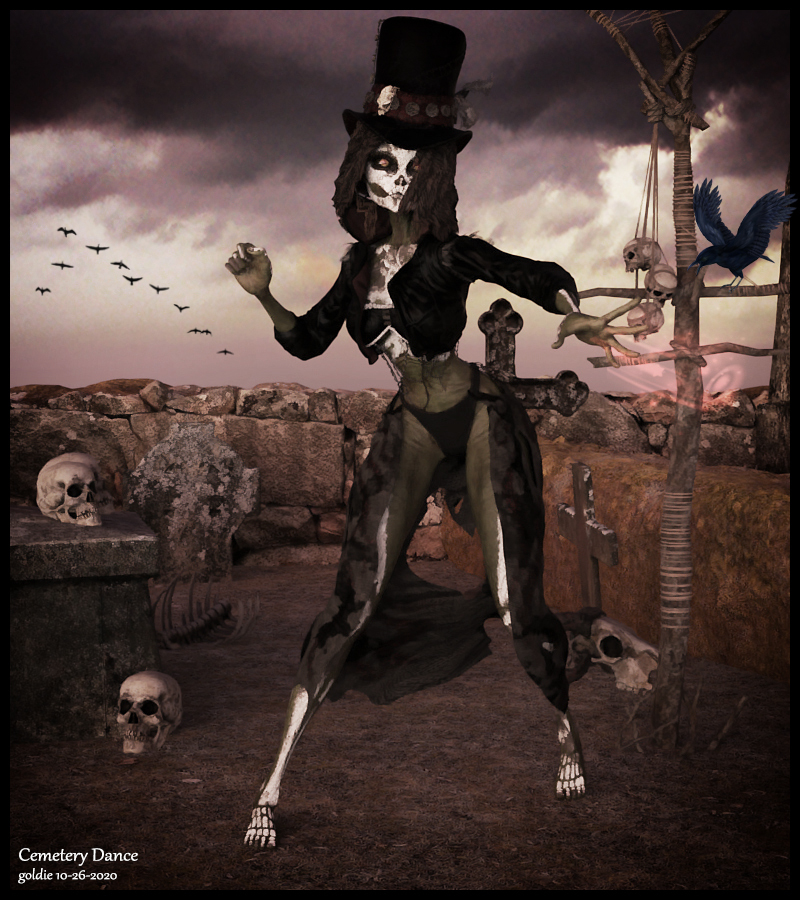 Cemetery Dance by goldie