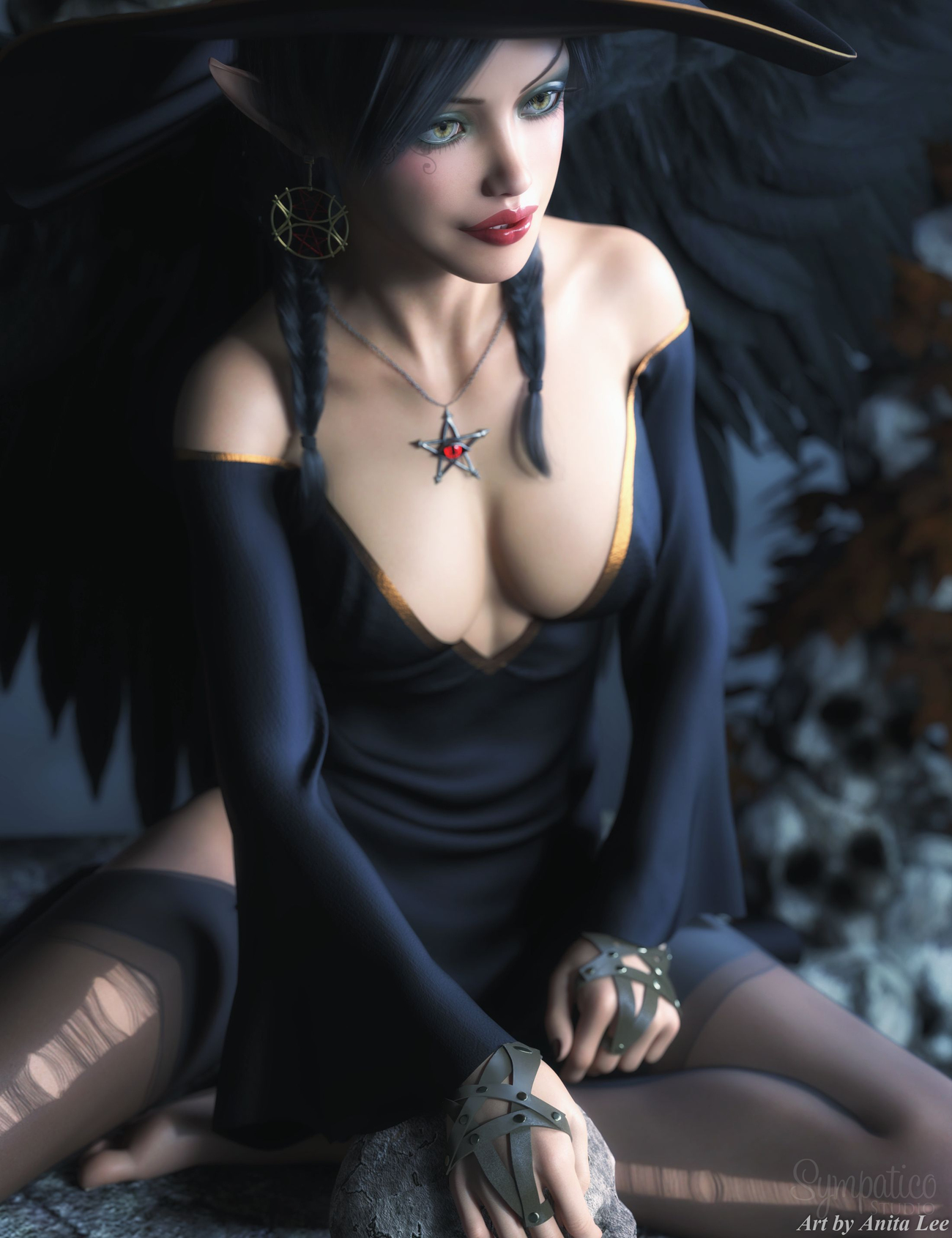 Witchy 1 by anitalee