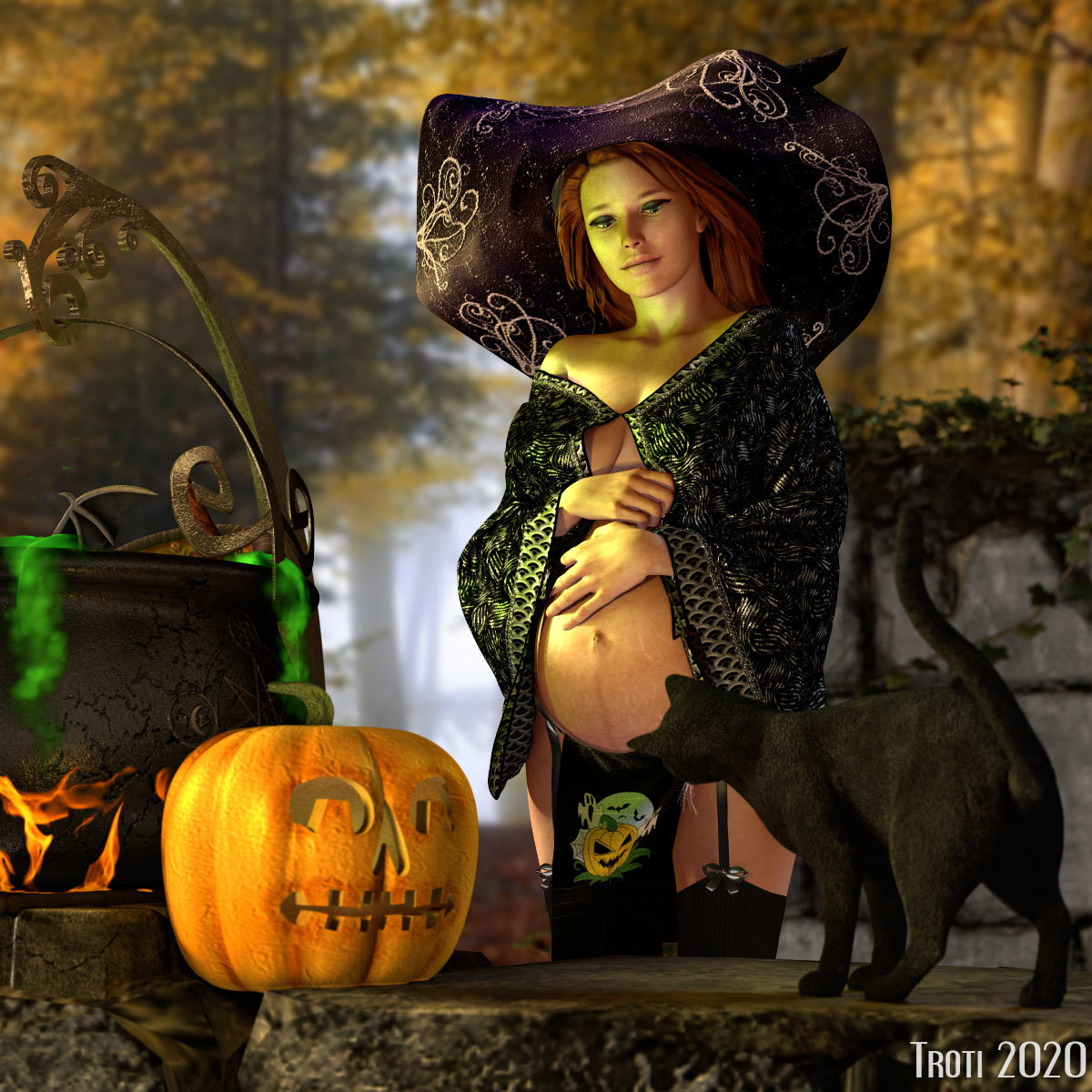 Trick or treat - for Gisela by marcopol